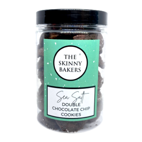 Cookie Jar - Sea Salt Double Chocolate Chip Cookies