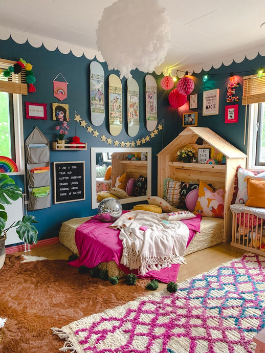 5 Budget Friendly Ways To Decorate A Fun & Playful Kidsroom