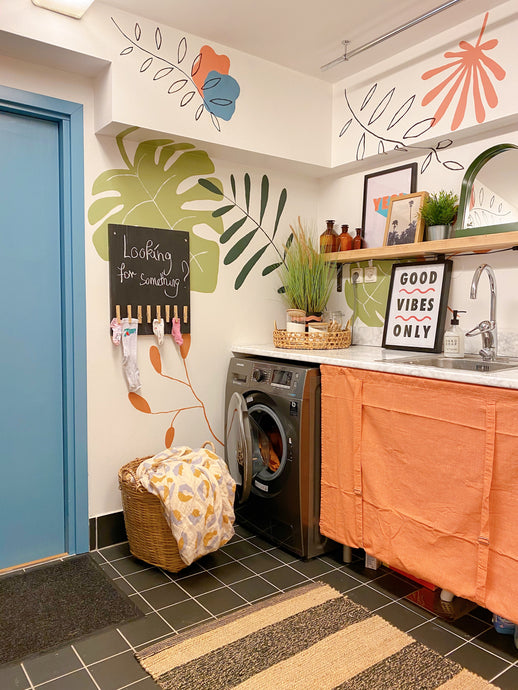Good Clean Fun! Laundry room reveal & smart laundry hacks (if I may say so)