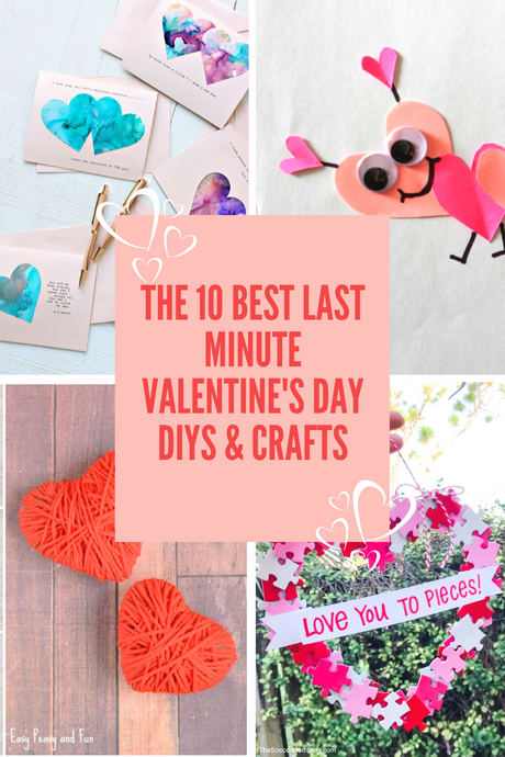 Last Minute Valentine's DIY's To Do With Kids