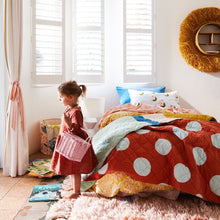 Load image into Gallery viewer, Esta Polka Dot Bedcover