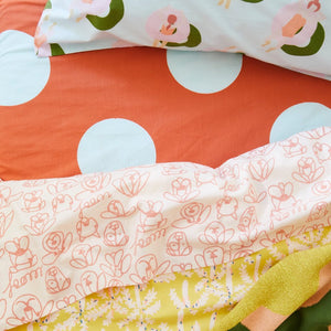 Rosquilla Cotton Pillowcase