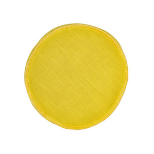 Rylie Round Cushion - Lemon