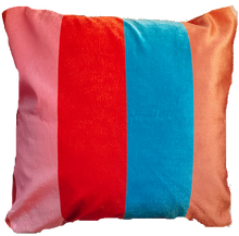 Load image into Gallery viewer, Lula Striped Velvet Cushion.