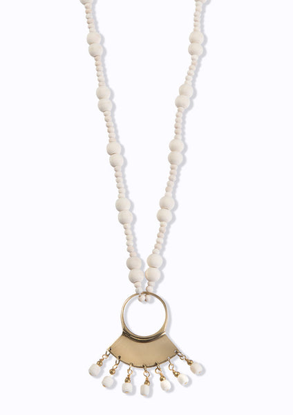 Masaai Necklace Ivory