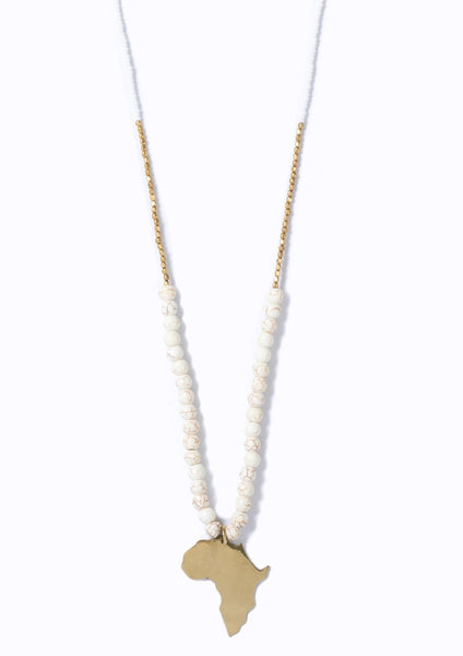 Swahili Africa Necklace Ivory