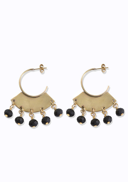 Masaai Earrings Ebony