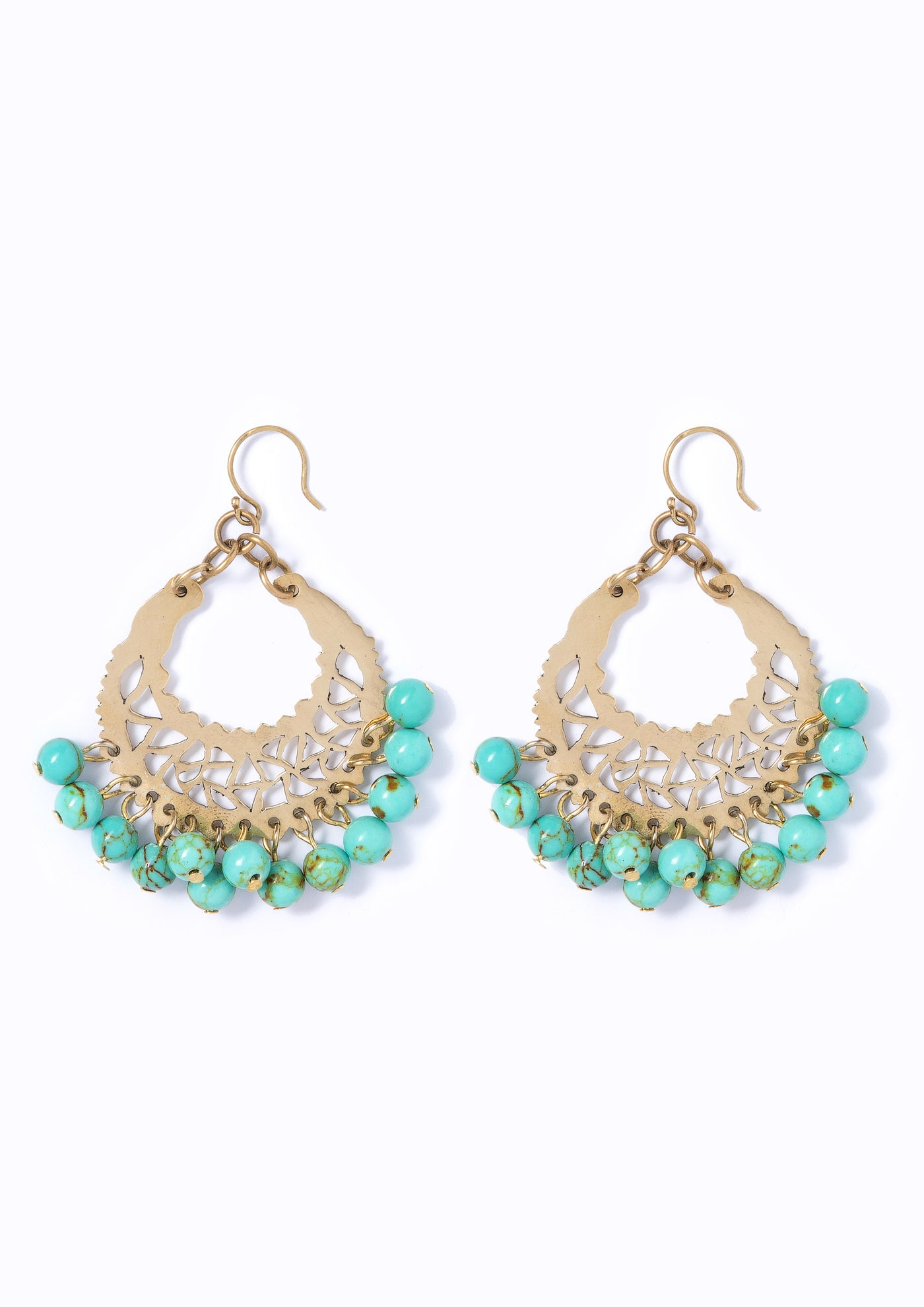 SOUL Marrakech Earrings Aqua