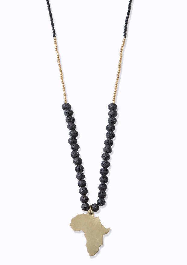 Swahili Africa Necklace Ebony