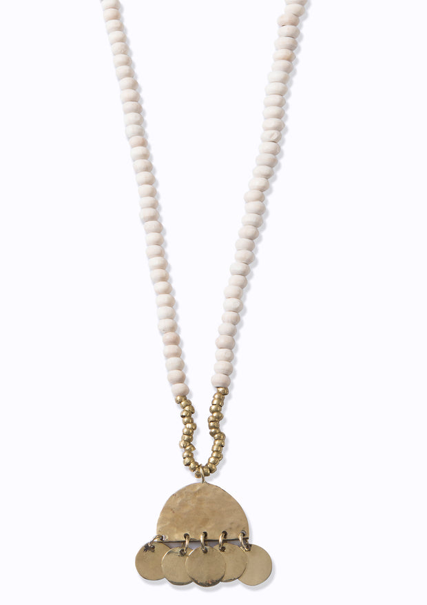 Coptic Sahara Necklace Ivory
