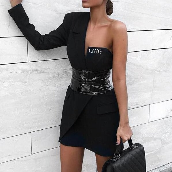 Chic Nyc  jacket dress