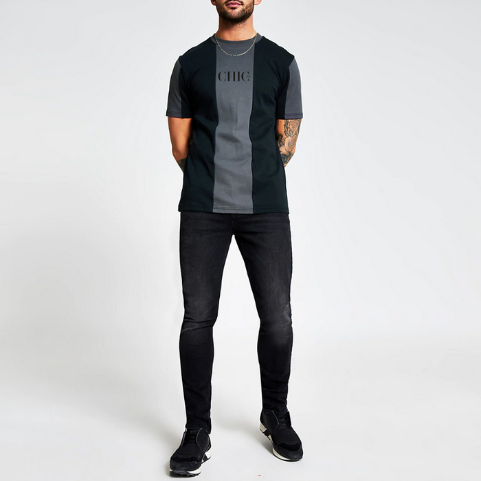 CHIC NYC MAN Color Block T-Shirt