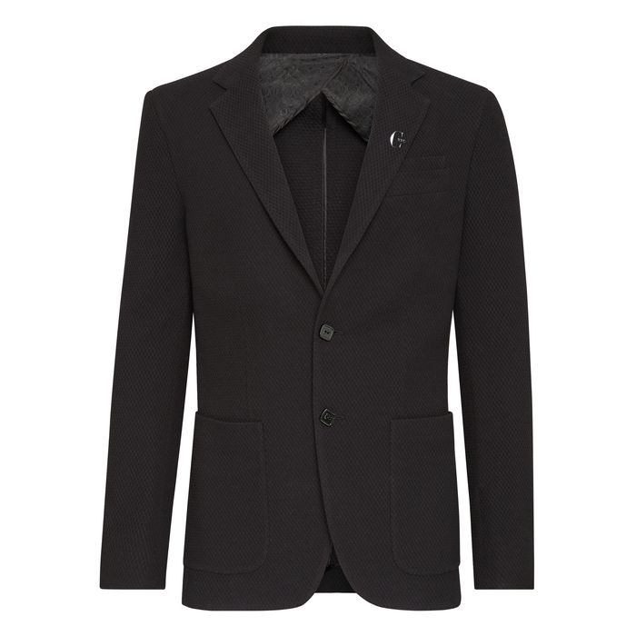 CHIC NYC MAN Black Blazer Tailored Fit Jacket