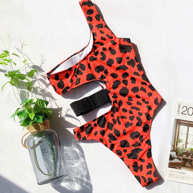Chic Nyc  Leopard Swimsuit