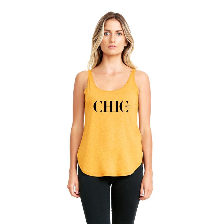 Chic NYC Organic Tank Top - Yellow