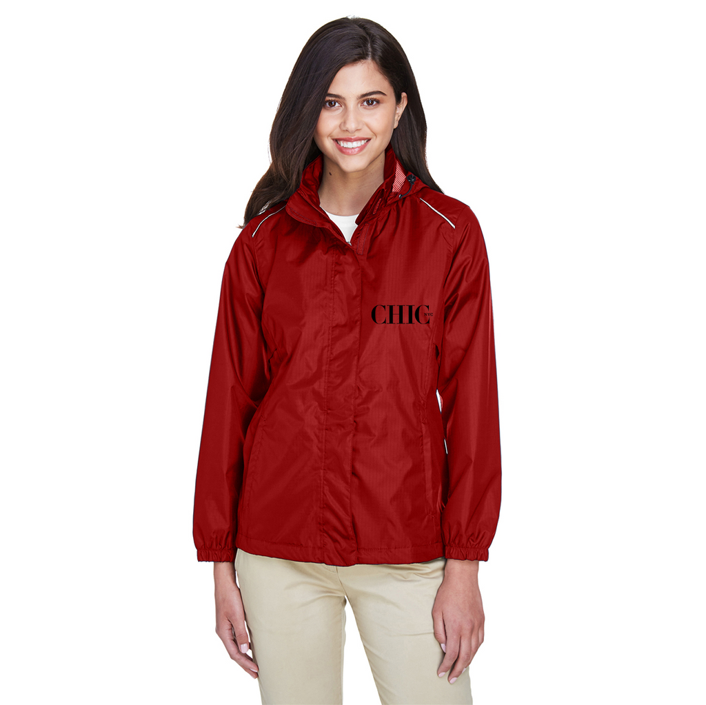 Chic NYC Official Wind Breaker - RED - Spring & Summer Jacket
