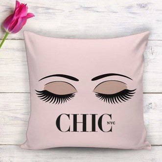 Chic NYC  Hornell Pink Pillow