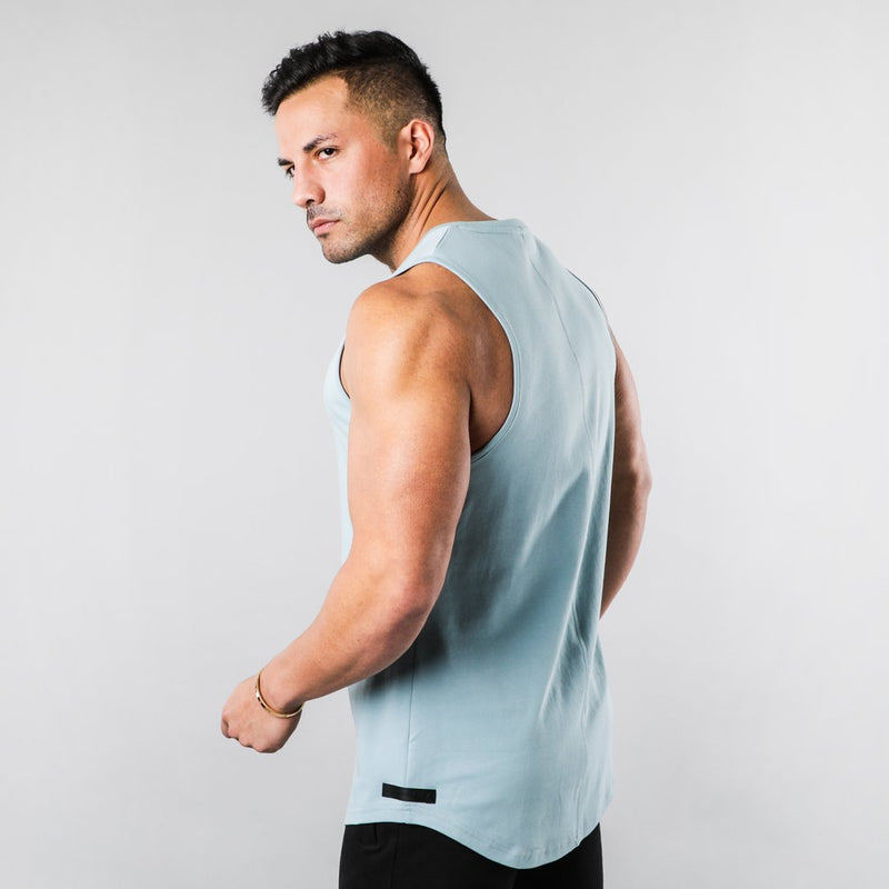 CHIC NYC MAN - Blue Fitness Tank