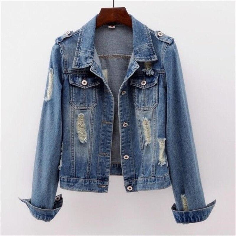 CHIC NYC Runway Denim Cowboy Jacket Short Slim Autumn