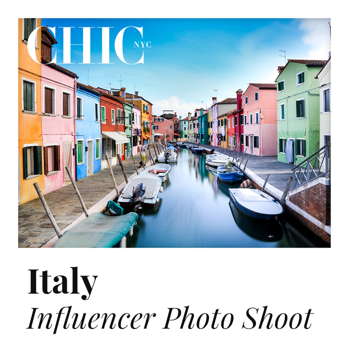 ITALY - Enter to Win a Photo Shoot in Italy w/ other Content Creators - LABELED TEE INCLUDED