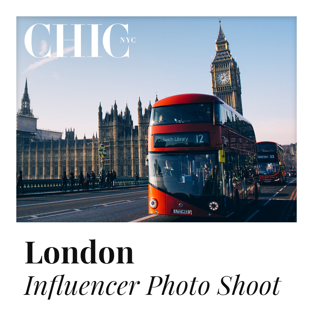 LONDON - Enter to Win a Photo Shoot in London w/ other Content Creators - LABELED TEE INCLUDED