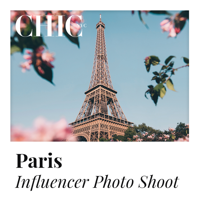 PARIS - Enter to Win a Photo Shoot in Paris w/ other Content Creators - LABELED TEE INCLUDED