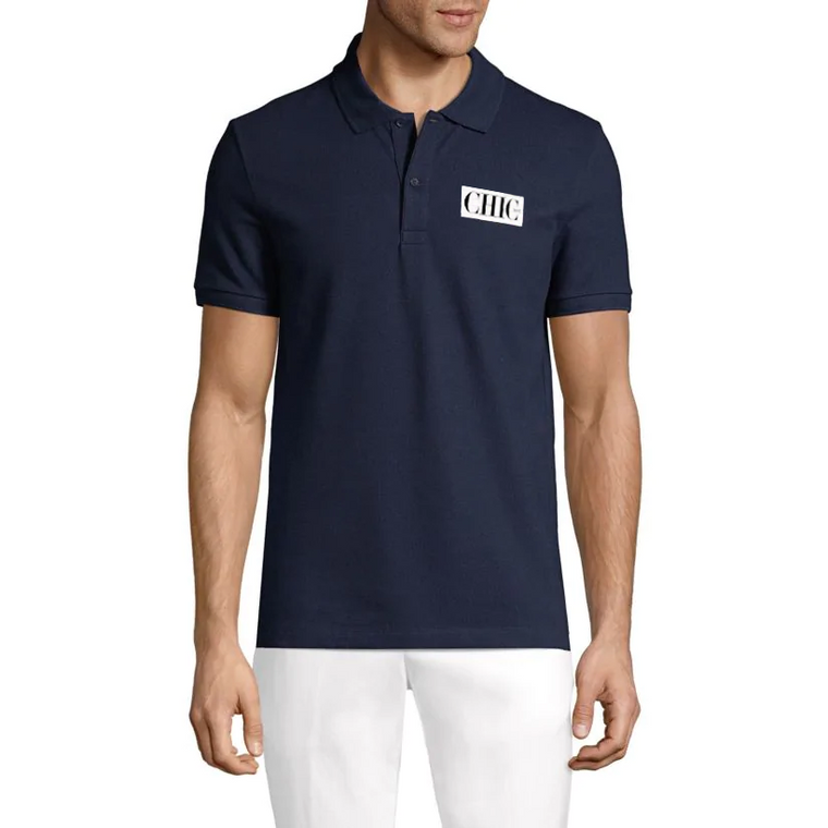 CHIC NYC MAN - Navy Blue Polo
