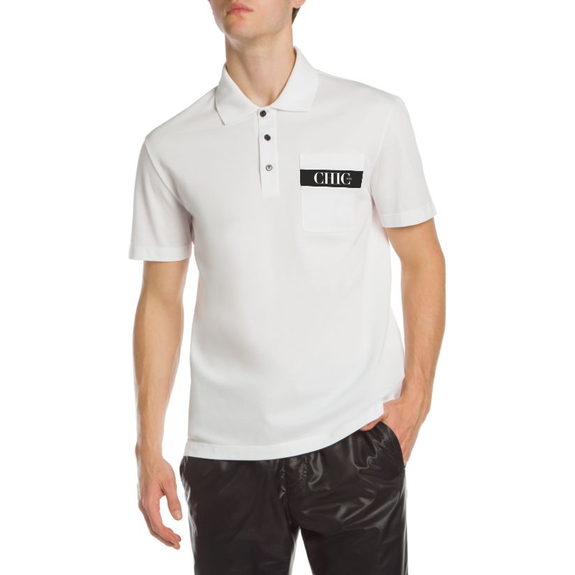 CHIC NYC MAN - White Polo