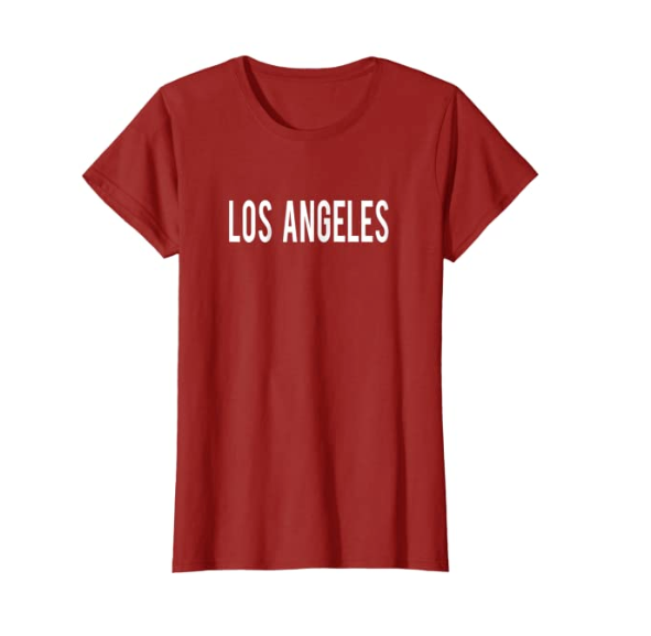 Los Angelas Custom Graphic Tee Shirt