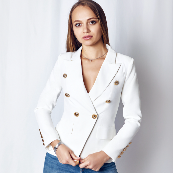 Must Have Blazer for the Season - White