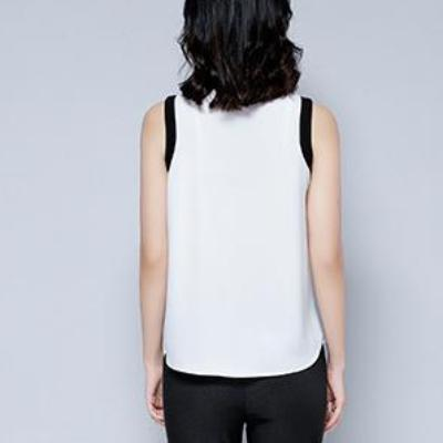 CHIC NYC Chiffon Short Sleeved Shirt