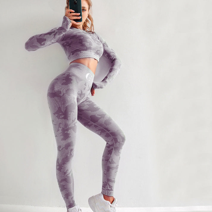 Barclay Purple Activewear Set
