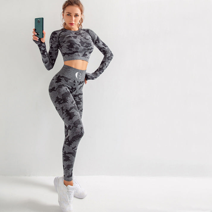 Barclay Black Activewear Set