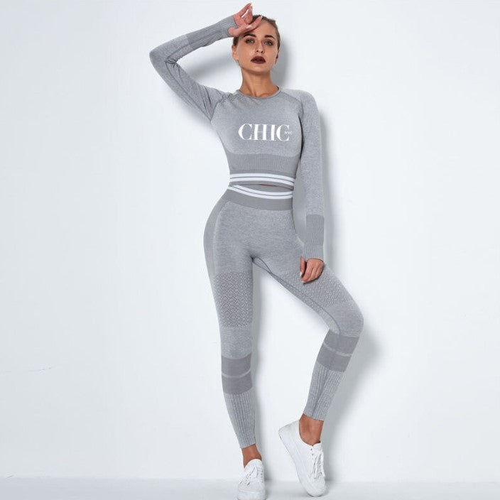 Chambers Grey Activewear Set