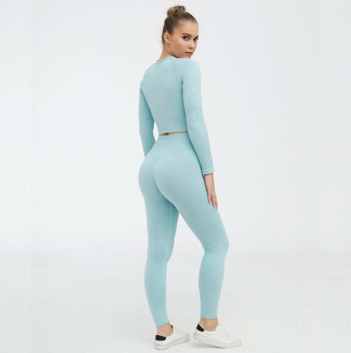 Tribeca Blue Activewear Set