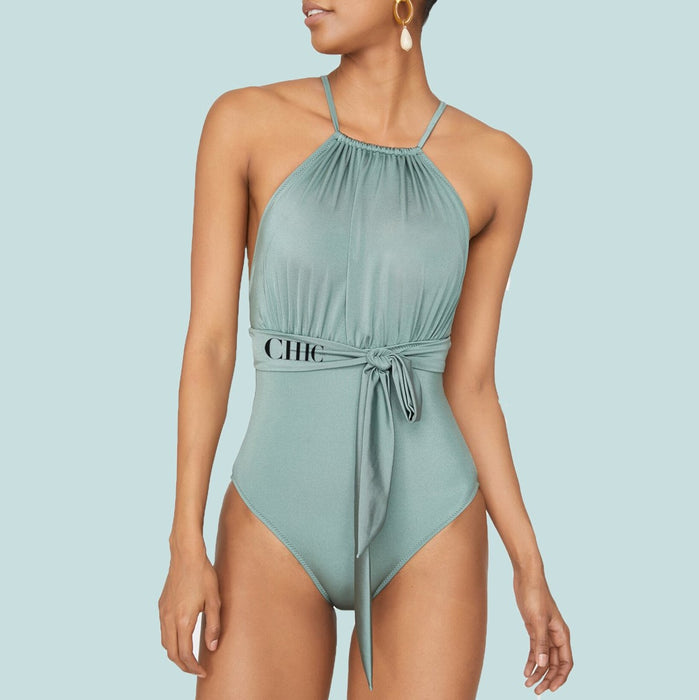 Chic Nyc Arched Swimsuit