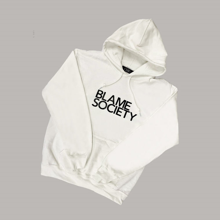 Blame Society Graphic Hoodie