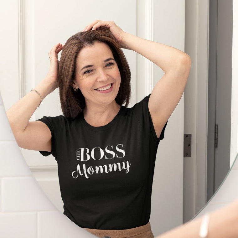 Boss Mommy Black T-Shirt