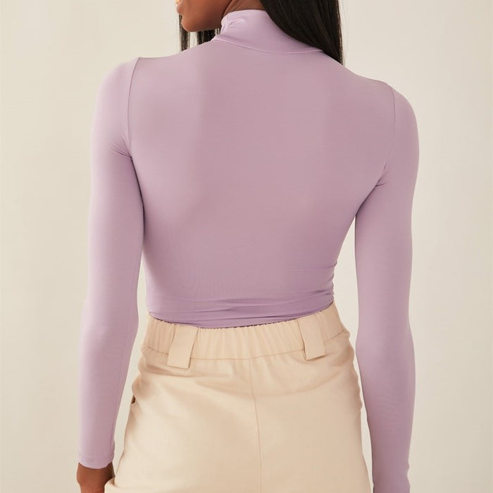 Chic Nyc Body Suit Turtle Neck
