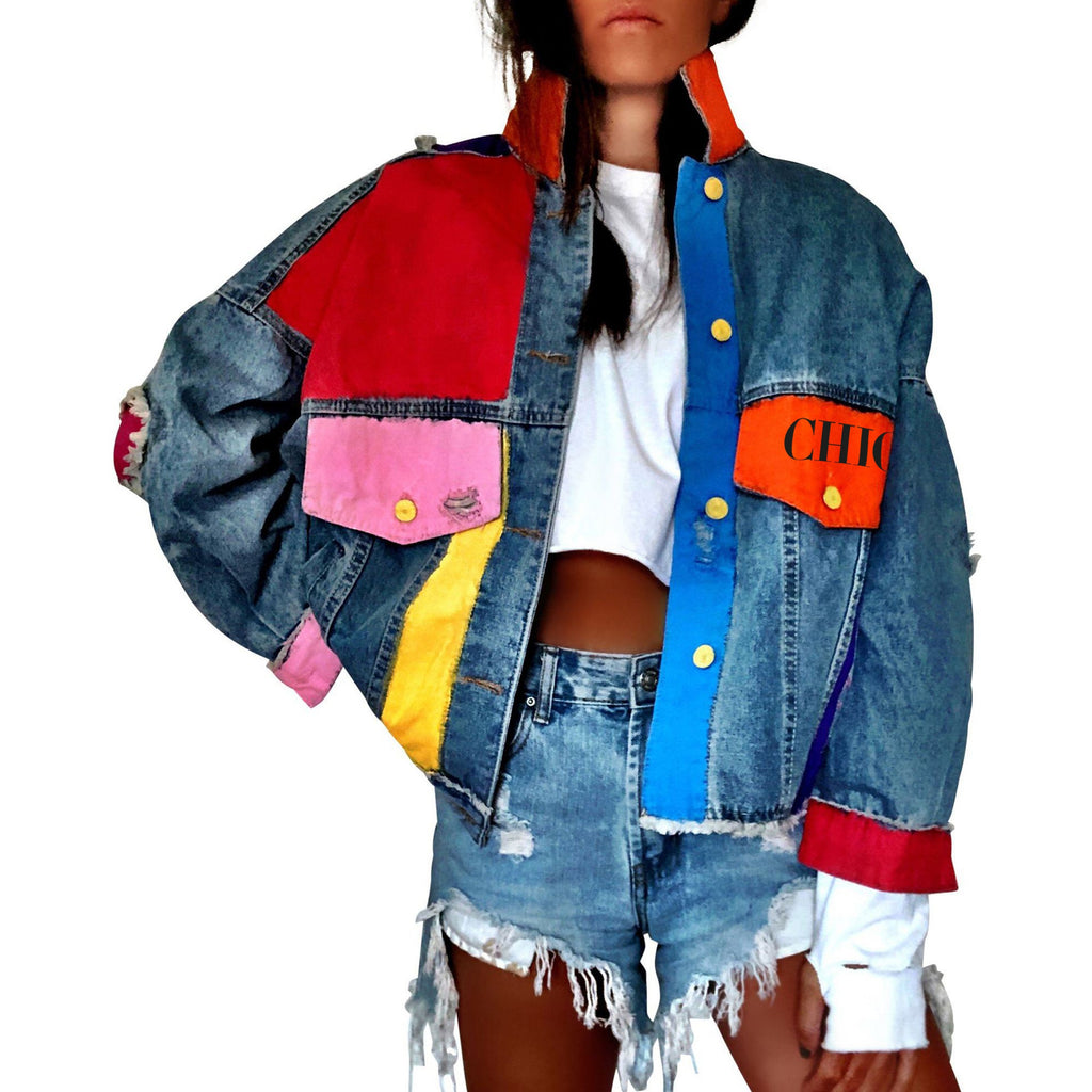 Chic NYC Denim Colored Jacket