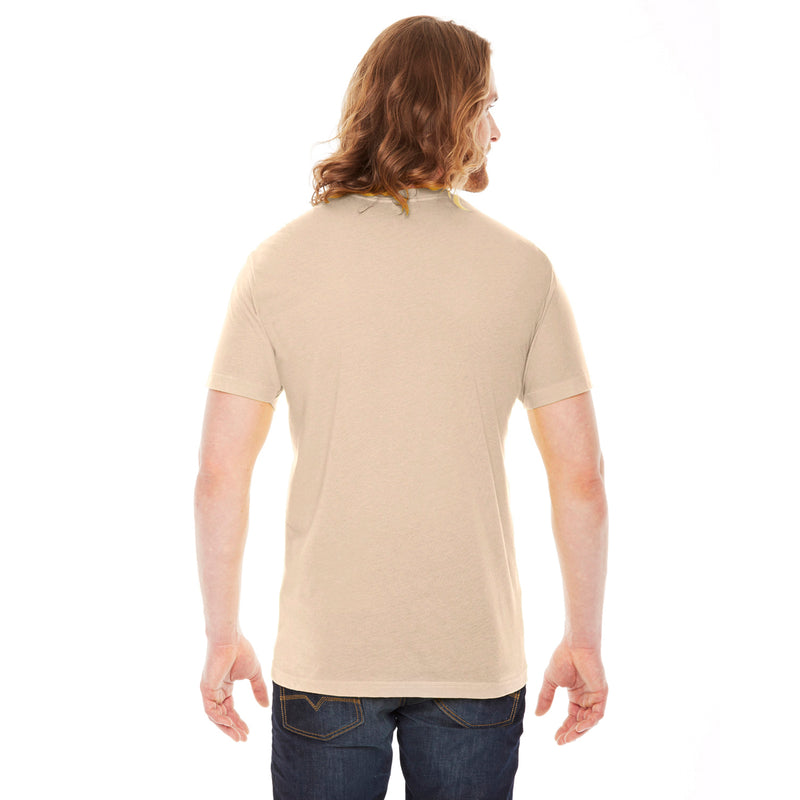 CHIC NYC MAN - Beige Basic T-Shirt