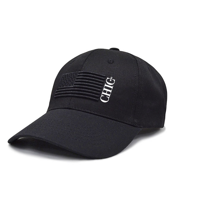 Chic NYC American Hat - Black