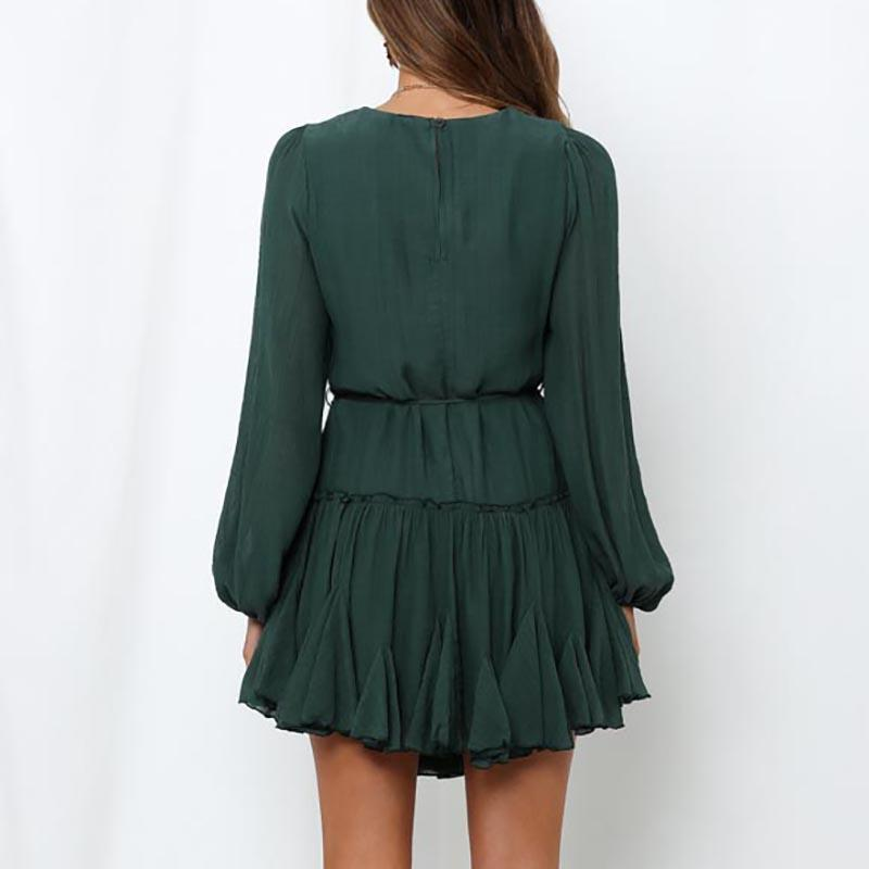 Chic NYC Green Mommy to Be Dress