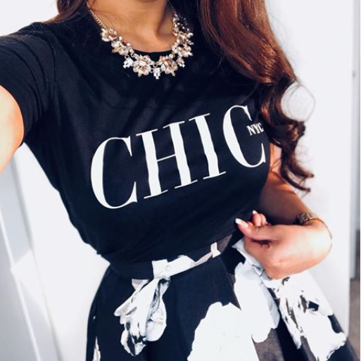 CHIC NYC Tee Shirt - BEST SELLER WORLDWIDE - Buy for a chance to WIN FASHION SHOW TICKETS