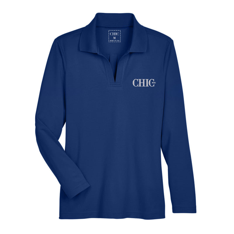 CHIC NYC Performance Polo - Spring & Summer Breathable Series- 5 Color Options 'S-3XL'