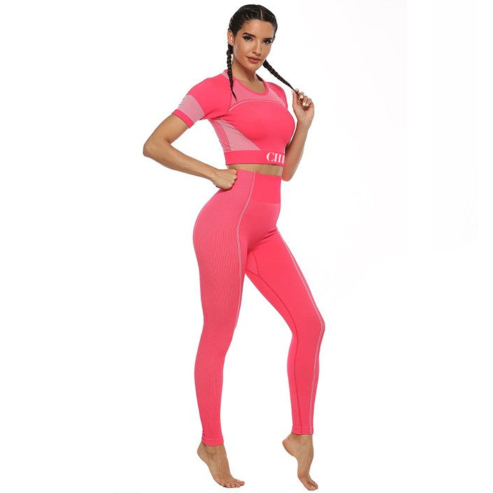 QUEEN Fuchsia Activewear Set