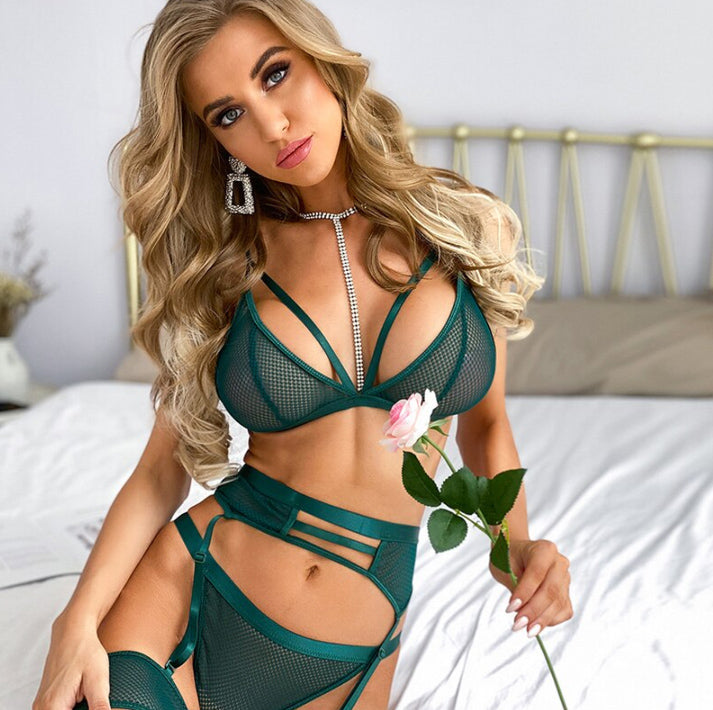 Khaki Filed Lingerie