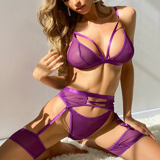 Purple Filed Lingerie