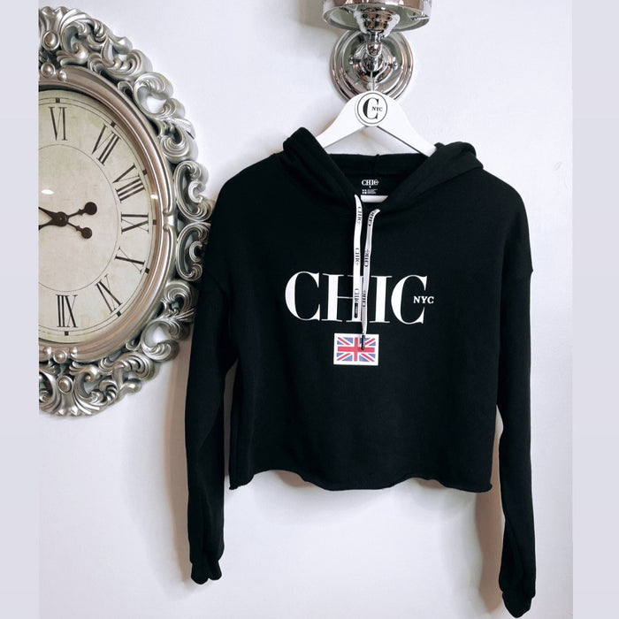 Chic NYC Black Crop Sweater