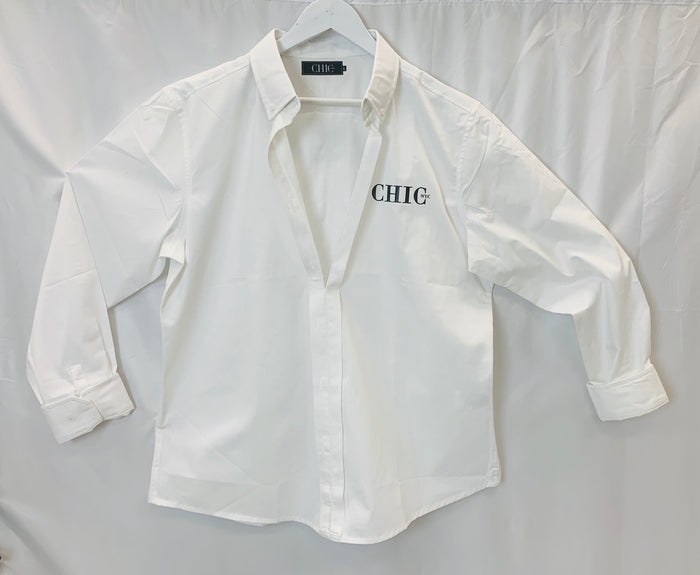 Womens Button Up Shirt - A Chic NYC Classic